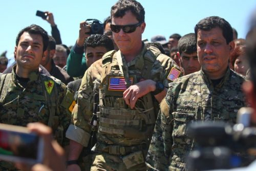 US and SDF Cooperation